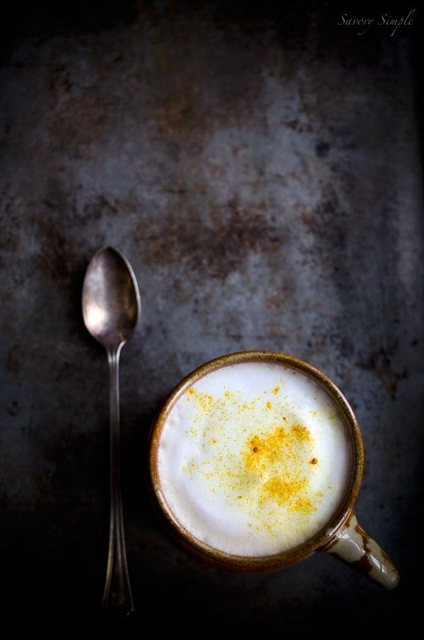 Turmeric Chai Latte - Savory Simple
