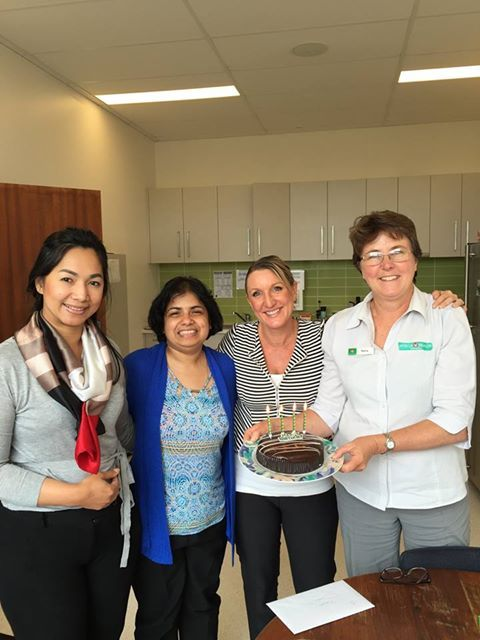 Happy Birthday Pubudu, our wonderful Doctor at Bittern :)   For she's a jolly good fellow!!!