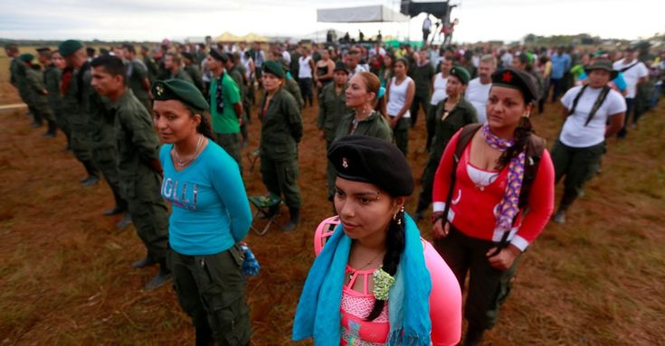 The country's historic peace deal means thousands of female fighters are giving up their weapons. But what happens then?