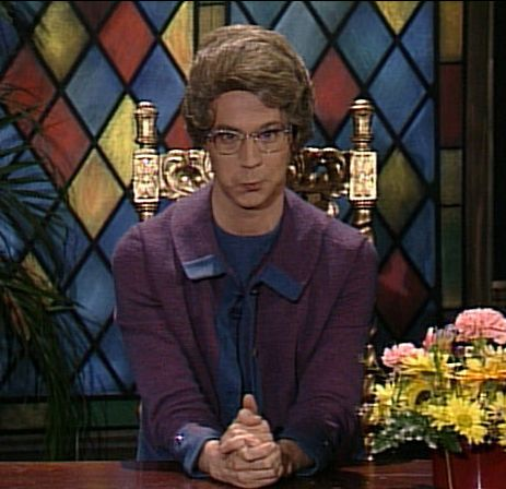 LOL.....Church lady....I love her!
