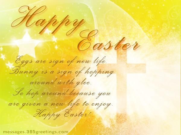 Christian Easter Messages - Messages, Wordings and Gift Ideas