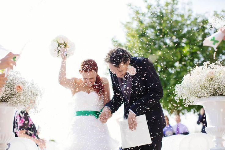 they re so cute - Bride & Groom - Confetti  http://www.fantasiaromantica.com  Wedding Destination Photographer: Florence   Europe | Martina   Fabrizio Wedding in a Tuscan villa | http://www.tastino0.it