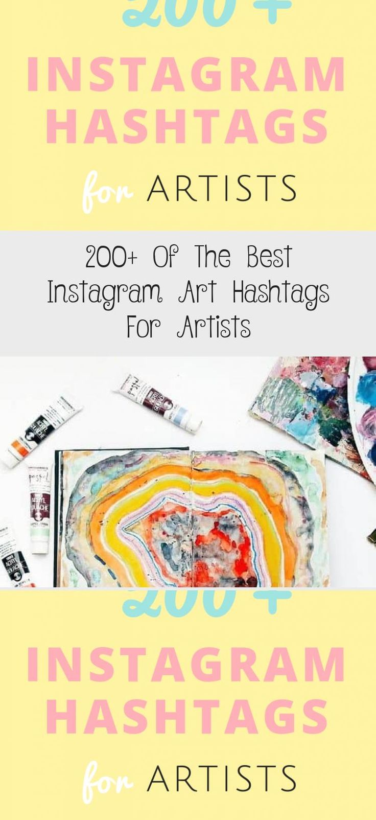 200 of the best instagram art hashtags for artists