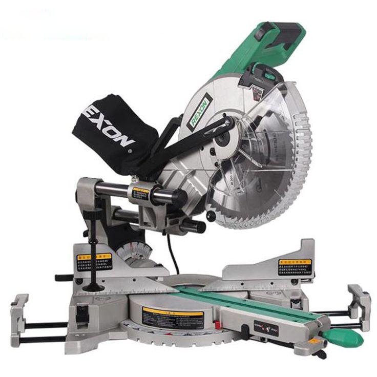 1pc Dual Sliding Compound Mitre Saw & 305mm miter saw 1800 W 220/ 50hz Circular Saw Cutting Machine Mluminum SM3057R #Affiliate