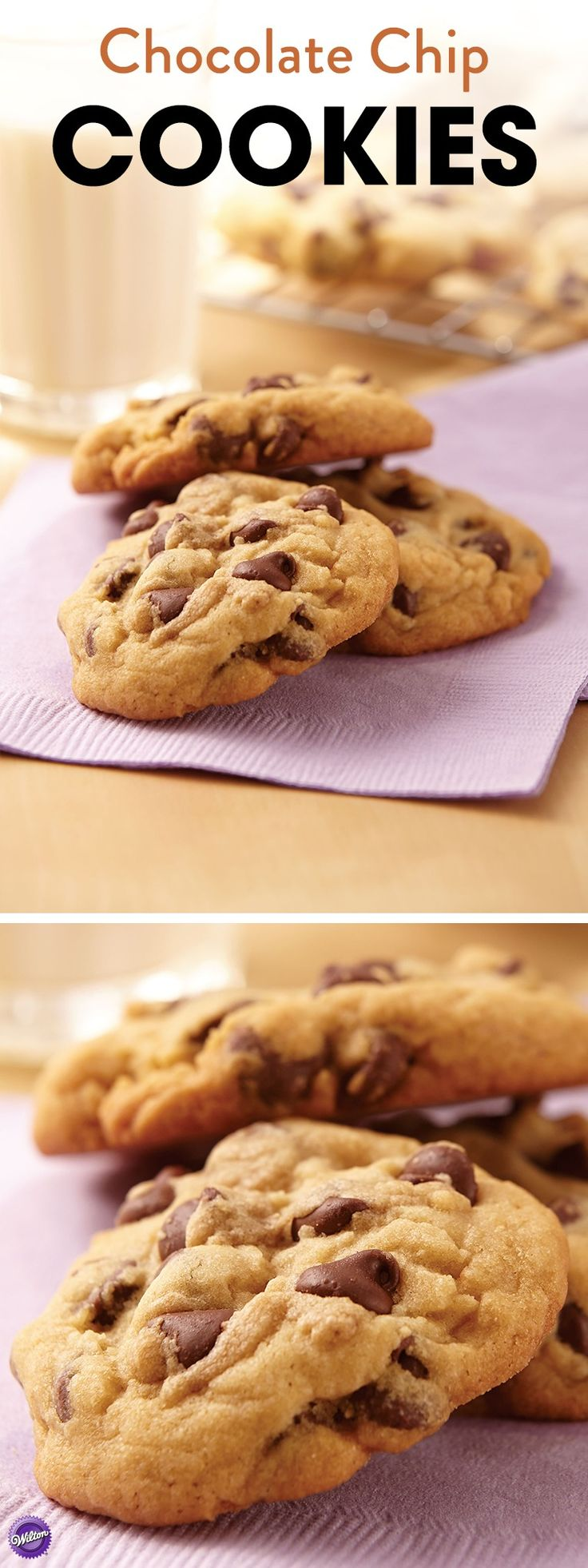 Nothing beats homemade chocolate chip cookies! Use this recipe to bake the most delicious and irresistible chocolate chip cookies.