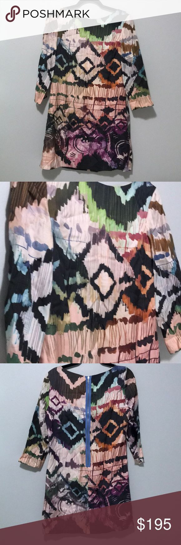 Ali Ro shift dress Silk shift dress - super cool on with booties! Great for weddings! Worn maybe 2-5 times! Must sell by 1/26!! Ali Ro Dresses Midi