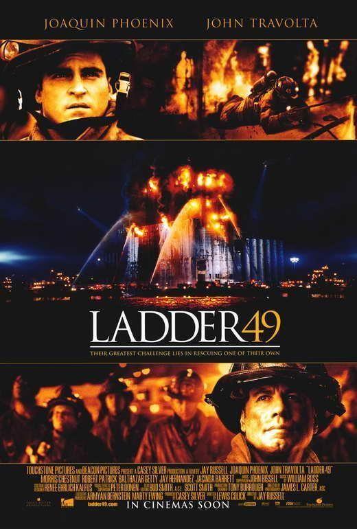 Ladder 49 Movie POSTER 27 x 40 John Travolta, Joaquin Phoenix, B ...