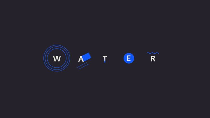 Kinetic Typography about water Written, designed, and animated by Hyungsoon Joo Voice over by Abby Watson Music by Michael Koo