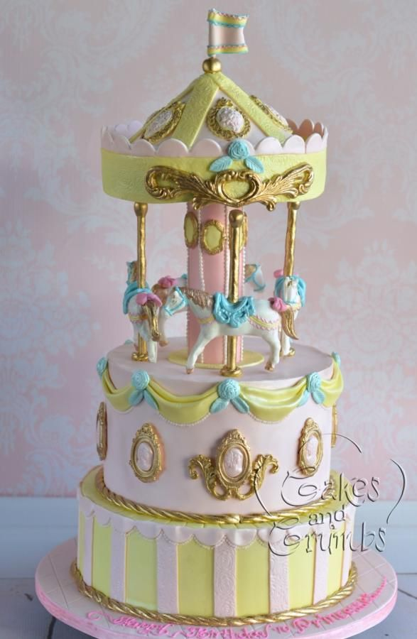 Cake Design Carousel : Carousel cake ... - http://cakesdecor.com/cakes/234000 ...