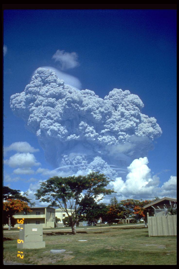 Erupción Monte Pinatubo, Isla de Luzón, Filipinas (1991)