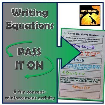 Equations Variations
