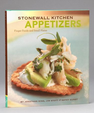 Take a look at this Stonewall Kitchen: Appetizers Hardcover by Chronicle Books on #zulily today!