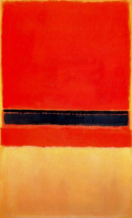 Mark Rothko, Untitled. 1954. Oil on canvas. 230 x 139,7 cm. Private Collection.