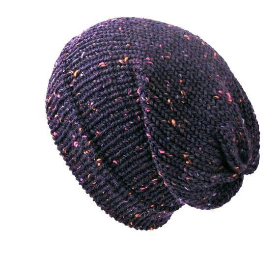 416df119ff5 Purple slouchy beanie hat slouchy beanie unisex slouchy knit hat slouchy  beanie woman man knit hat slouchy knit beanie winter beanie hat   purpleslouchhat ...