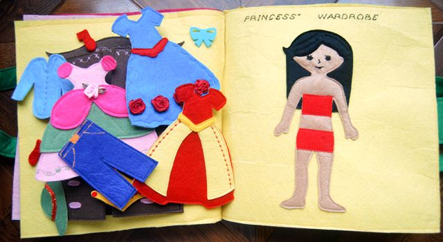 Princess Dress-up Page