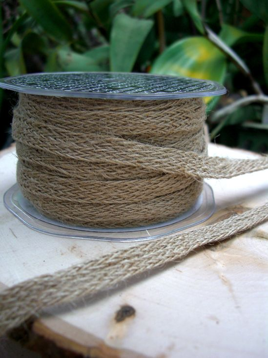 10.99 SALE PRICE! Add eco-friendly flair to your party or crafts with this natural ribbon. The Braided Jute Ribbon wonderfully adorns the edges of blackboard...