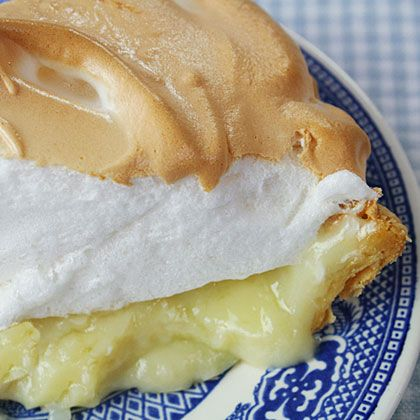 White waves of mile-high meringue top a delicious coconut cream in this perfect pie.