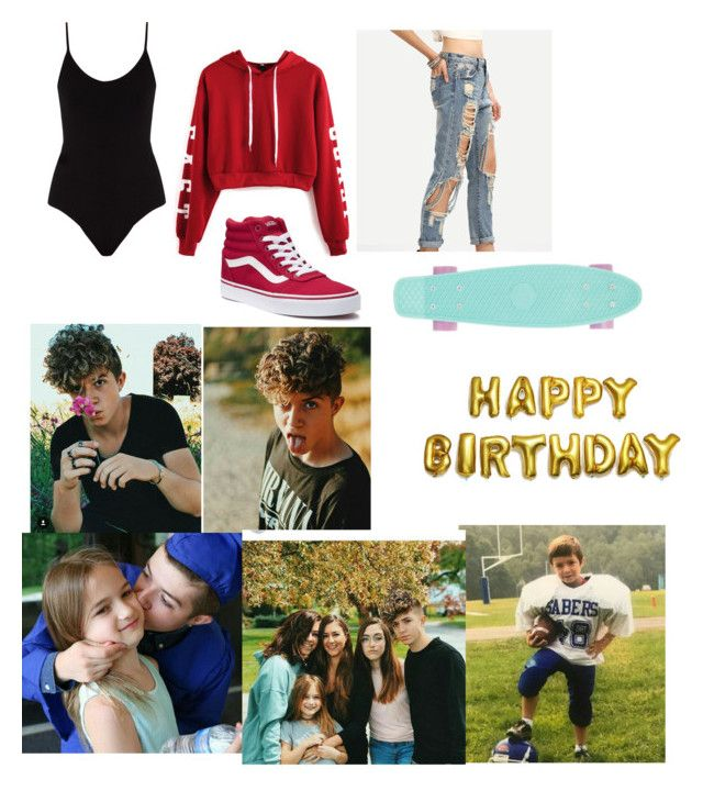 """""""HAPPY BIRTHDAY JACK ♡"""" by marigalindoguti ❤ liked on Polyvore featuring ATM by Anthony Thomas Melillo, WithChic and Vans"""