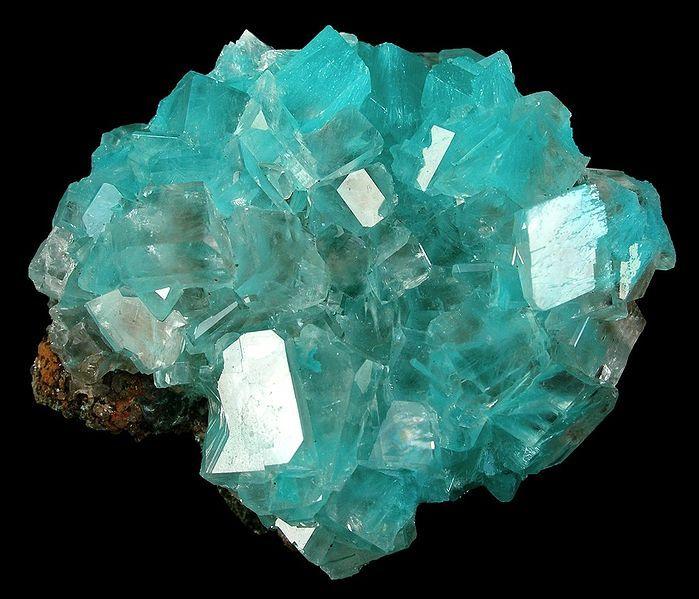 水亜鉛銅鉱(オーリチャルサイト):Aurichalcite :