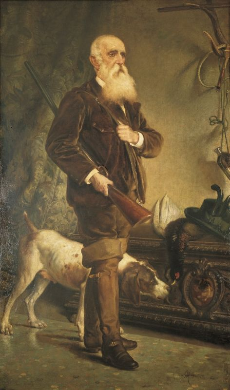 Emilio Magistretti, Ritratto di Luigi Crivelli, 1902.