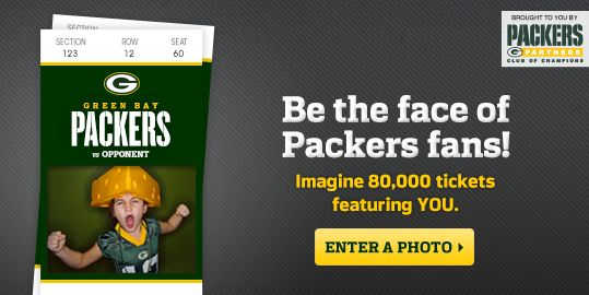 Green Bay Packers in the NFL have personalised tickets for fans.