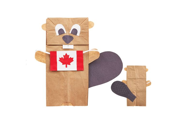 Your little maple leaf will have tons of fun making these easy Canada Day crafts.