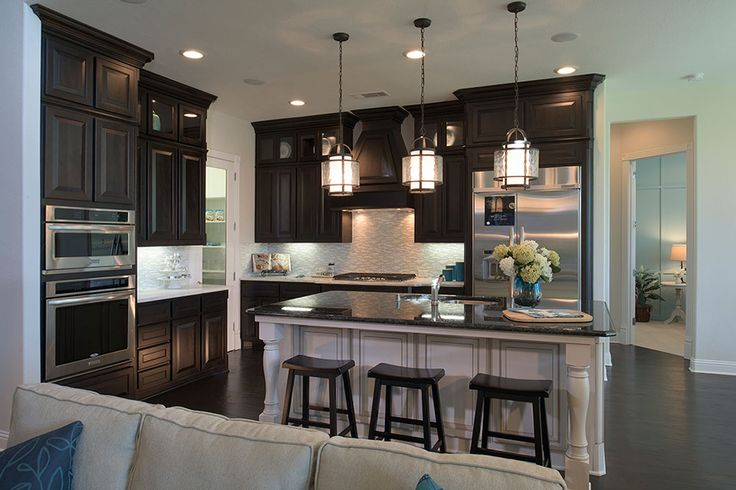 Toll Brothers Model Home In Canyon Falls Kitchen