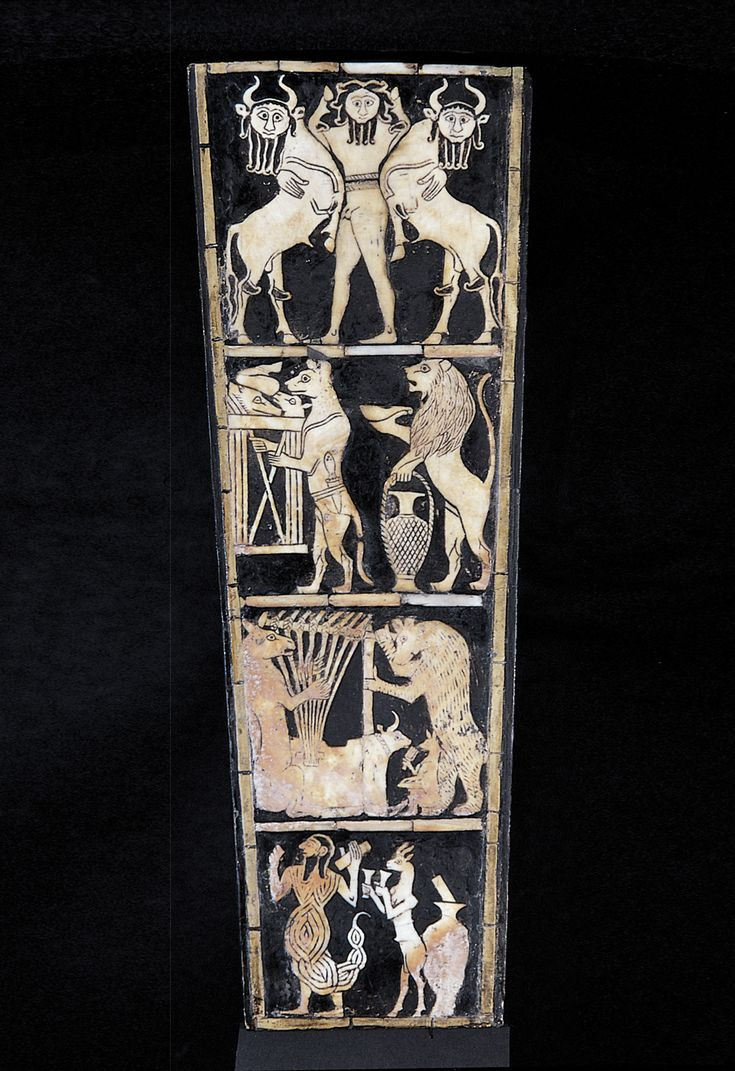 Unknown artist Detail from the Lyre
