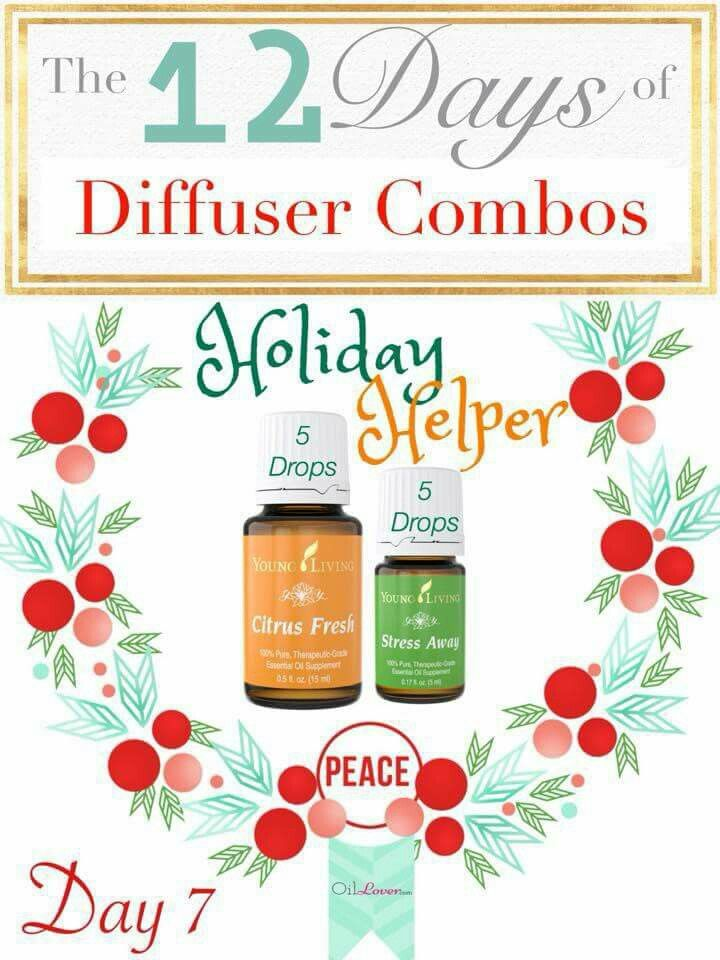 Day 7 of 12 Days of Diffuser Combos