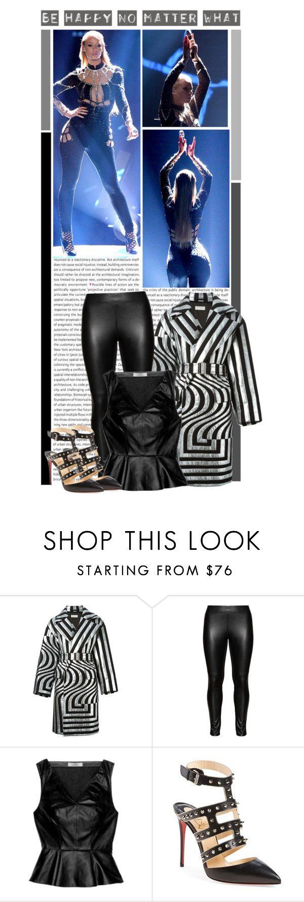 """#1250 (Iggy Azalea)"" by lauren1993 ❤ liked on Polyvore featuring Oris, Versace, Dries Van Noten, Studio, Robert Rodriguez, Christian Louboutin, women's clothing, women, female and woman"