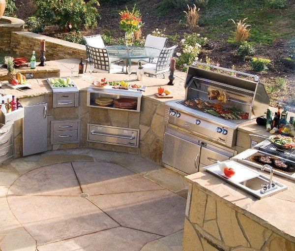 Outdoor Kitchen Ideas Outdoor Kitchen Design Ideas My Dream Outdoor Kitchen Outdoorkitchendesigns Hinterhof Kuche