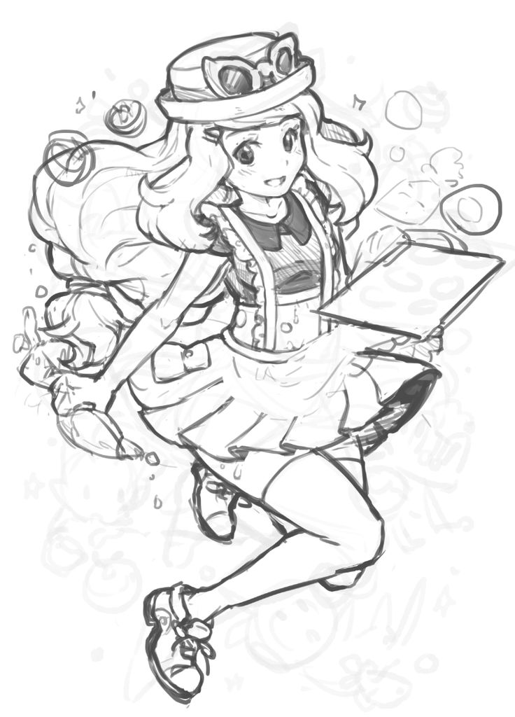 Anime picture search engine 1girl mieau monochrome