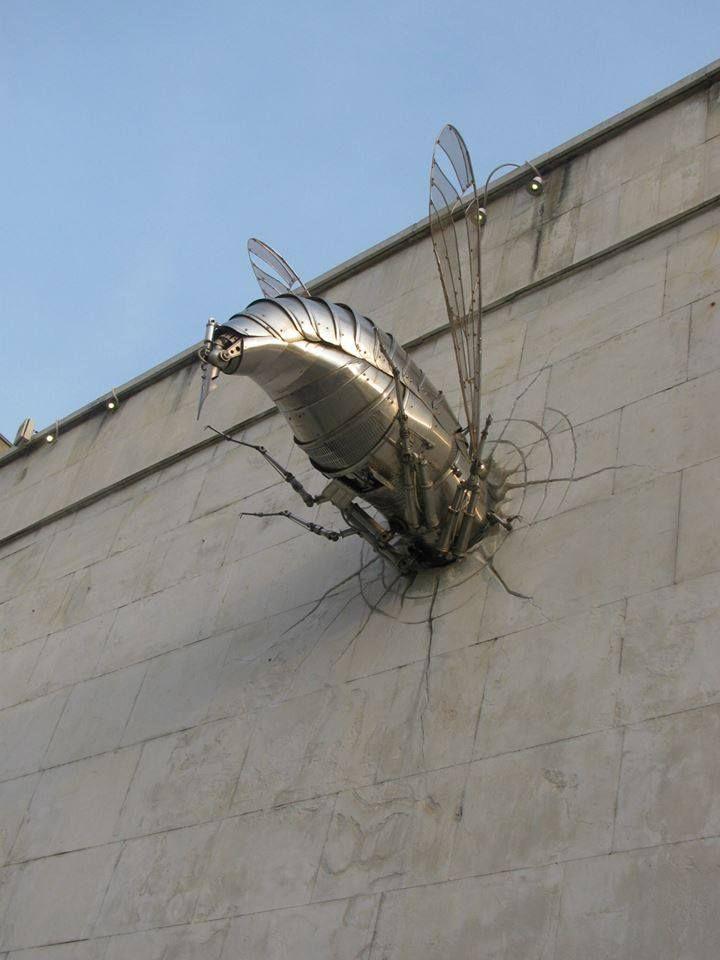 "GEORGE Leontiev BALABANOV House of Humor and Satire. Gabrovo. Bulgaria. Winner of Grand Prize ""GOLDEN AESOP"" 2011 (Sculptures)"