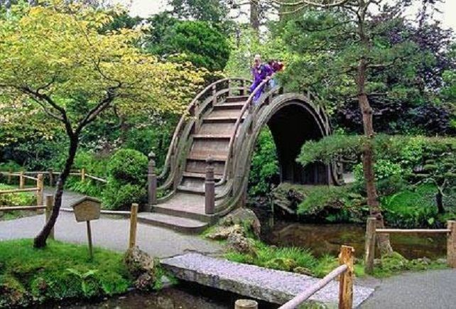 Japanese home gardens terrace and garden designs for Traditional japanese garden