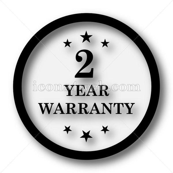2 Year Warranty Simple Icon 2 Year Warranty Simple Button
