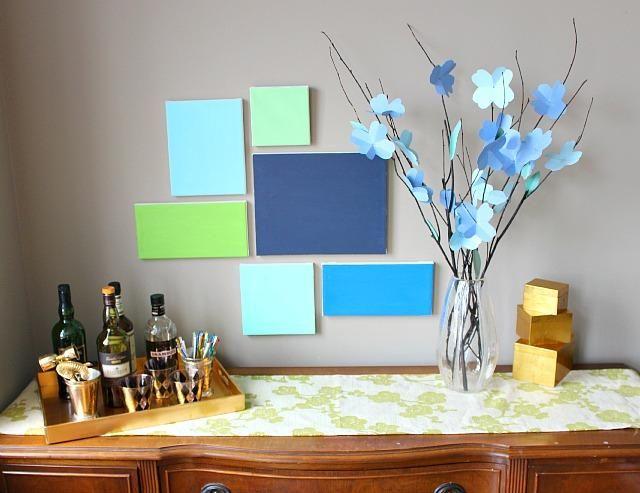 DIY Tutorial Diy Dorm Room Crafts DIY Canvas Art