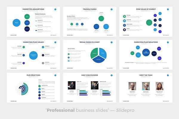 Marketing Plan Powerpoint Template - Presentations