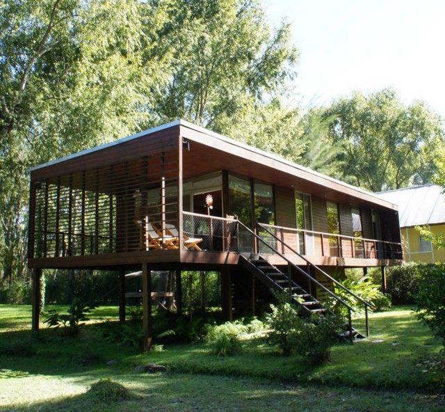 4626 best architecture villas images on pinterest for Modern stilt house plans