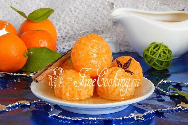 Пряные мандарины - рецепт с фото