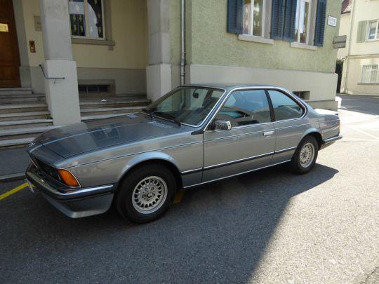mobilverzeichnis  /  1986 BMW 635 CSI