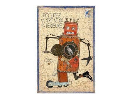 Lubicie układać #puzzle? Do 10 kolejnych zamówień w sklepie http://www.madamnamnam.pl powyżej 50zł (w wartość nie wlicza się kosztów dostawy), dorzucimy mikropuzzle Robot Pierre, które składają się ze 150 elementów. Jest to trudna układanka z maleńkich puzzli. To prawdziwe wyzwanie dla najsprytniejszych. Po ułożeniu można układankę oprawić i powiesić w pokoju dziecka. #madamnamnam #londji