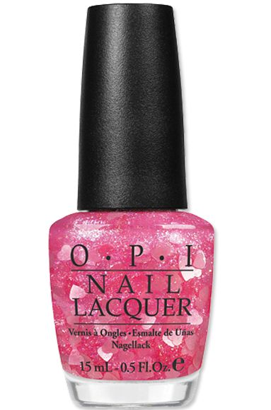 Minnie Mouse-Inspired #OPI Nail Polish in Nothin' Mousie 'Bout It: Polish Collection, Nail Polish, Mousy 39Bout, Mouse Inspiration Opi, Pink Nails, Minnie Mouse, Glitter Nails Polish, Opi Nails, Mousy Bout
