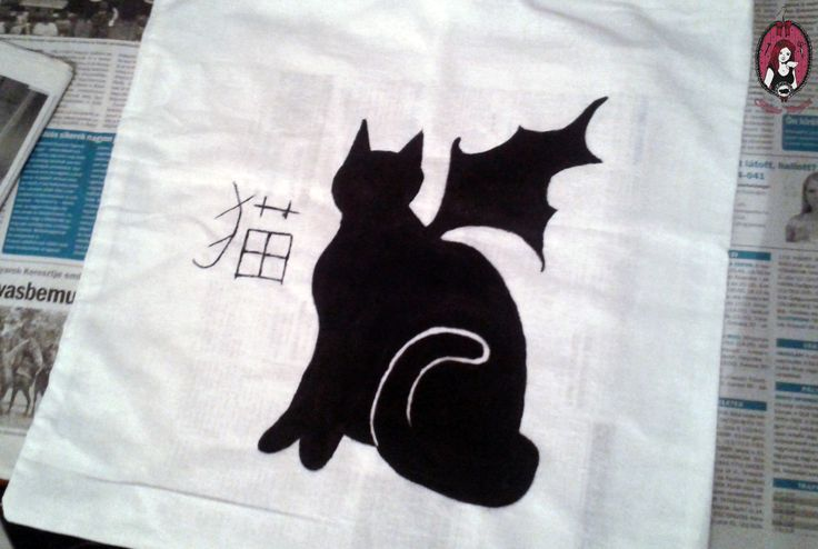 Handmade Neko Bag  My website: http://blitheproject.hu/ Facebook: https://www.facebook.com/blitheproject