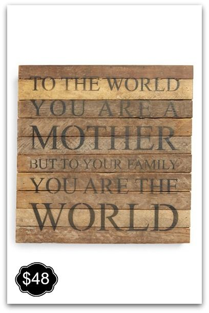 Love this for Mother's Day!