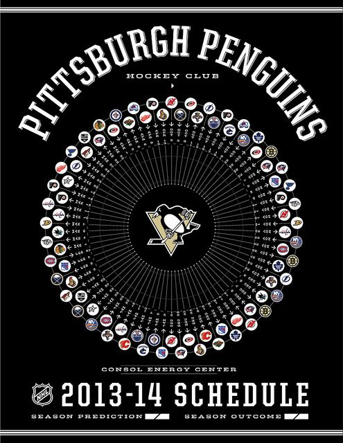 Pittsburgh Penguins 2013-14 Schedule | Flickr - Photo Sharing!