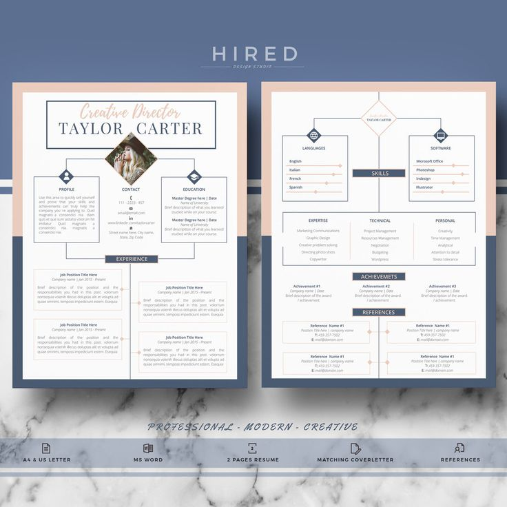 19 best CV images on Pinterest Cv template, Resume and Resume - microsoft word resume template for mac