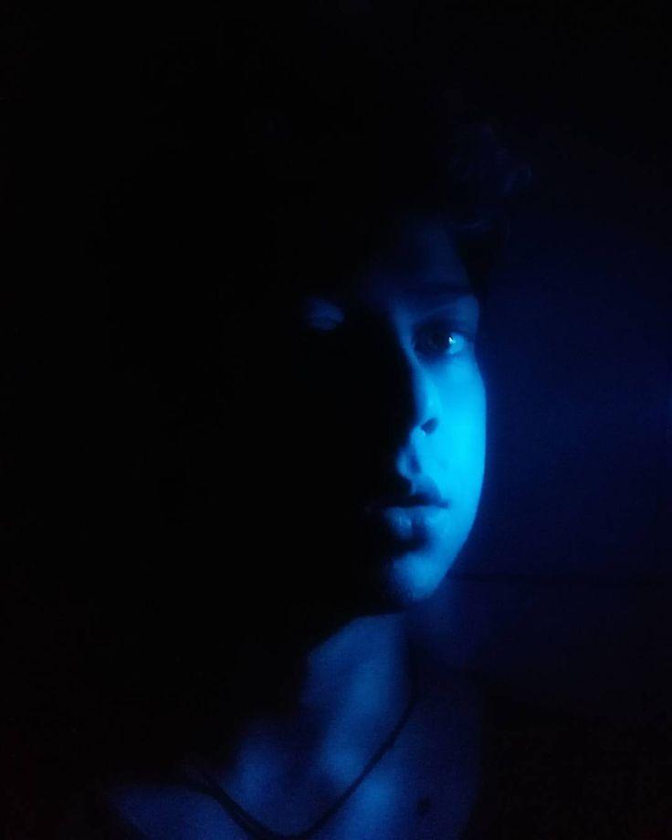 A little blue devil #VikincA #vain #blue #boy #face #tumblr #evilheart #devil #light #instagood #fashion #lifestyle #instagram #like4like #huawei #selfie #monday #lips #cute #guy #memyselfandi #ijustwannabeme #vain #gay #glam #me #happy #dark #peace