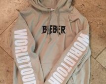 Justin Bieber PURPOSE TOUR exclusive hoodie