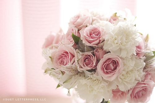 Pinterest Flowers: Pink + White Flowers
