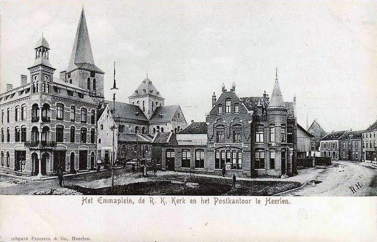 Emmaplein. 1904/05. Heerlen.